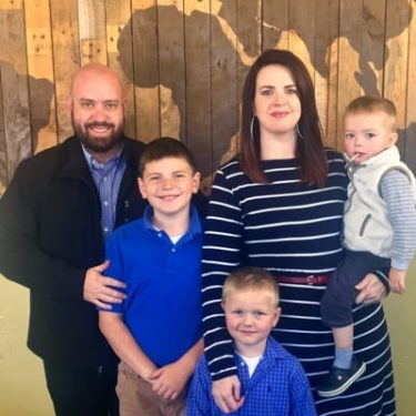 Underwood family - Missionaries to South Africa